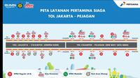 Layanan BBM PT Pertamina Saat Arus Balik Lebaran 2019. Dok Pertamina