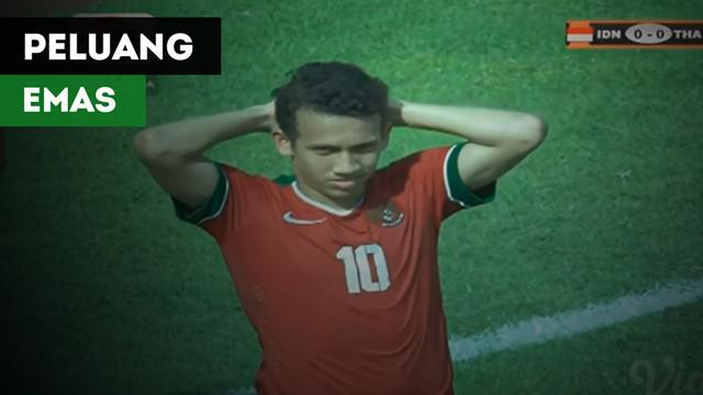Berita video 3 peluang emas Timnas Indonesia U-19 saat menghadapi Thailand pada semifinal Piala AFF U-18 2017, Jumat (15/9/2017).