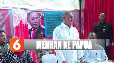 Menhan juga menyampaikan pesan dari Presiden Jokowi betapa pentingnya perdamaian dan merajut tali persaudaraan.