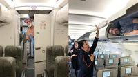 Pria Ini Punya Cara Unik Sindir Kebiasaan Penumpang Pesawat, 6 Fotonya Bikin Geleng-geleng (sumber: Boredpanda)
