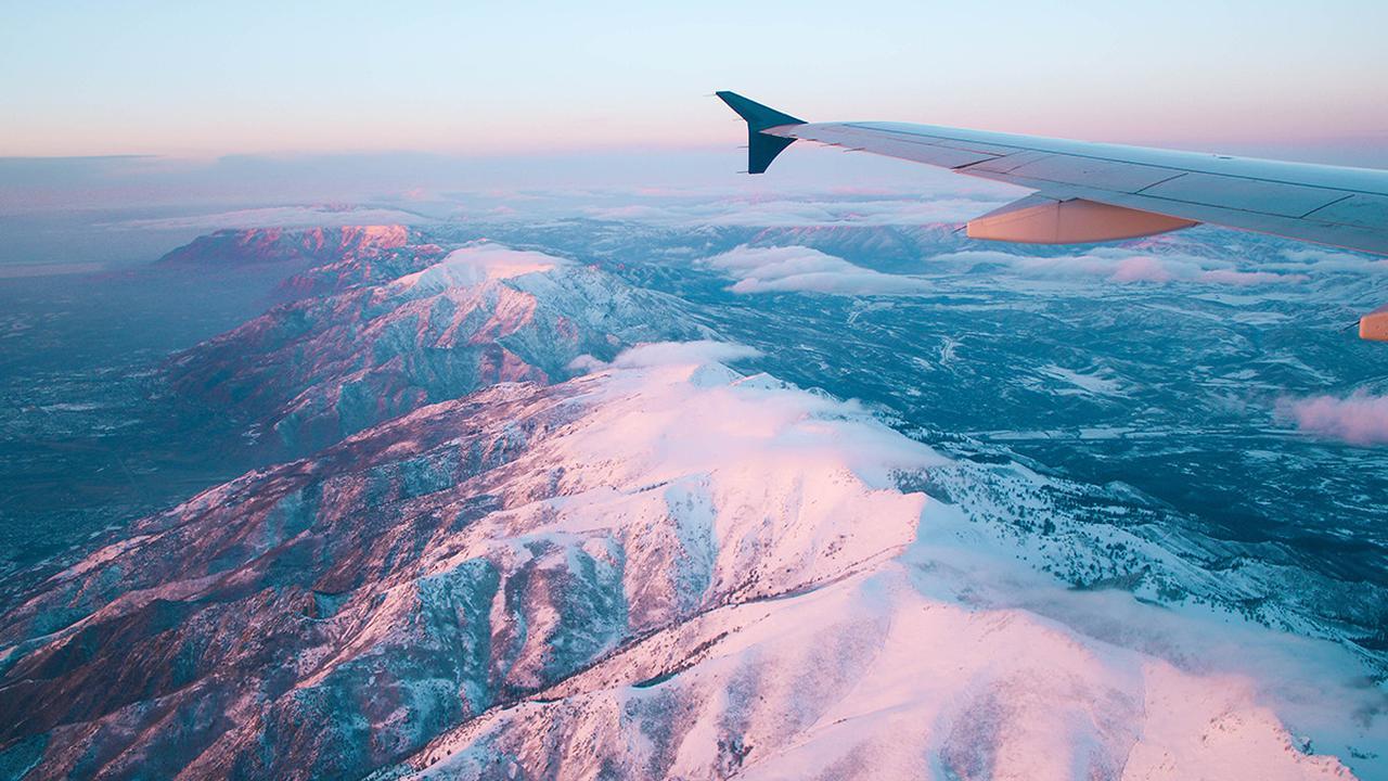 Tips Dapatkan Foto Keren di Pesawat