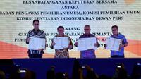 KPU, KPI, dan Bawaslu Bentuk Gugus Tugas untuk Pantau Kampanye Pemilu 2019