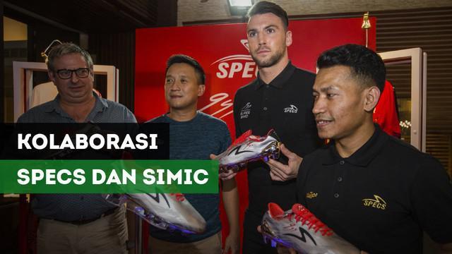 Berita Video Marko Simic dan Specs Kolaborasi Membuat Sepatu