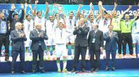 Iran menjuarai Piala Asia Futsal 2016 setelah menang 2-1 atas Uzbekistan di Tashkent, Minggu (21/2/2016) malam WIB. (dok. AFC)