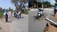 5 Foto Kendaraan Terjebak di Cor Basah, Ada yang Didenda Rp 130 Juta (sumber: Twitter.com/akuluka)