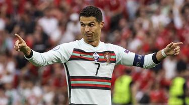 Foto Piala Eropa: Sebaran 11 Gol Cristiano Ronaldo di 5 Edisi Piala Eropa yang Lampaui Rekor Michel Platini