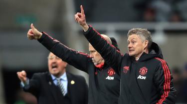 Gol Rashford dan Lukaku Anta MU Kalahkan Newcastle United