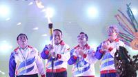 Menteri Pemuda dan Olahraga (Menpora) Zainudin Amali secara resmi membuka Pekan Olahraga Palajar Nasional (Popnas) XV/2019 di Gelanggang Mahasiswa Soemantri Brodjonegoro, Jakarta, Minggu (17/11) malam.