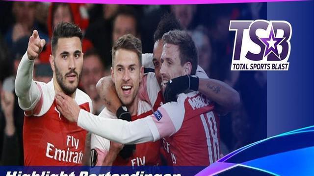 Berita video highlights babak perempat final Liga Europa antara Arsenal menghadapi Napoli yang berakhir dengan skor 2-0, Jumat (12/4/2019) dinihari WIB.