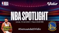 Serial dokumenter NBA Spotlight di Vidio. (Sumber: Vidio)