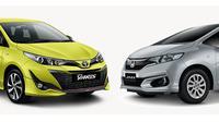 Dengan dana Rp 200 jutaan, lebih baik Toyota Yaris atau Honda Jazz? (Otosia.com)