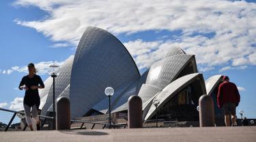 FOTO: Sydney Lockdown Antisipasi Penyebaran COVID-19 Varian Delta