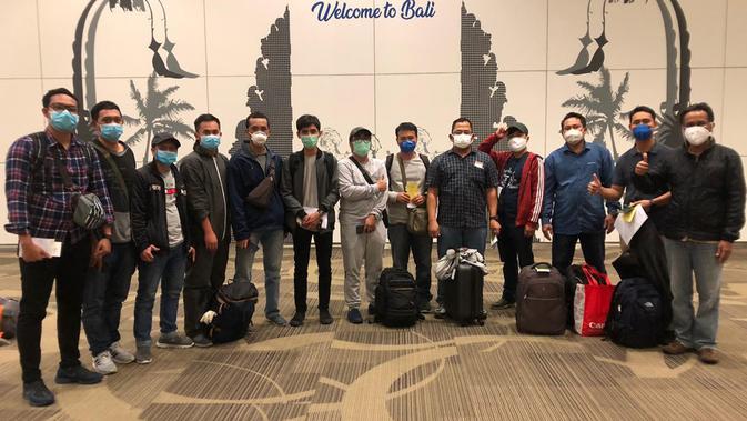 KBRI Hanoi pulangkan ABK yang terjebak di Vietnam. Dok: KBRI Hanoi