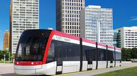 LRT tersebut rencananya juga akan dibangun dari Jakarta hingga Bekasi, Jawa Barat.