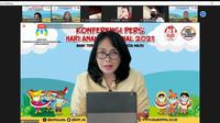KemenPPPA peringati Hari Anak Nasional 2021. Foto: KemenPPPA.