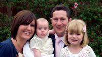 Seorang ibu, Lisa Mitchell (28) dan dua anak perempuannya, Ellie (7) dan Amelia (4) menderita kondisi jantung langka