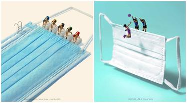 Seniman Ini Buat Miniatur Olimpiade Tokyo 2020, 8 Hasilnya Mengagumkan