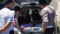 Mobil mesum yang tertangkap di Sukoharjo (Merdeka.com)
