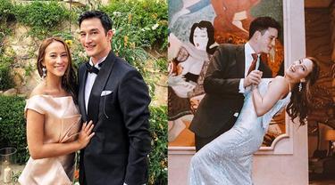 6 Momen Pertunangan Mike Lewis dan Janisaa Pradja, Tampil Serasi Sambil Dansa