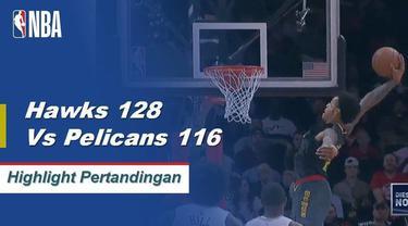 Kevin Huerter skor 27 sebagai Hawks mendapatkan kemenangan atas Pelikan, 128-116.