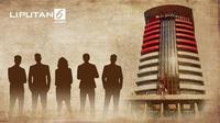 Banner Infografis Profil dan Harta Pimpinan KPK Periode 2019-2023. (Liputan6.com/Abdillah)