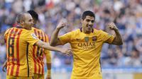 Striker Barcelona Luis Suarez (Reuters)