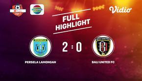 Laga lanjutan Shopee Liga 1, Persela Lamongan VS Bali United FC berakhir  2-0 #shopeeliga1 #Persela Lamongan #Bali United FC