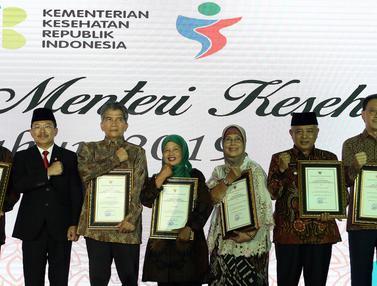 Eddy Sariaatmadja Raih Penghargaan Anugerah Menteri Kesehatan 2019