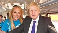 Jennifer Arcuri dan PM Inggris Boris Johnson. (Source: Standard/ Media Sosial)