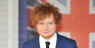 Penulis lagu dan penyanyi asal Inggris, Ed Sheeran, karya-karyanya selalu mendapat respon baik dari penggemar musik di dunia. (Bintang/EPA)