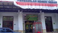 Status positif Covid-19 terhadap Ketua PN Medan berdasarkan hasil tes swab
