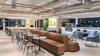 Berikut GoWork, coworking space dengan desain inspiratif yang memiliki fasilitas pemesanan secara online. (Foto:Dok.GoWork)