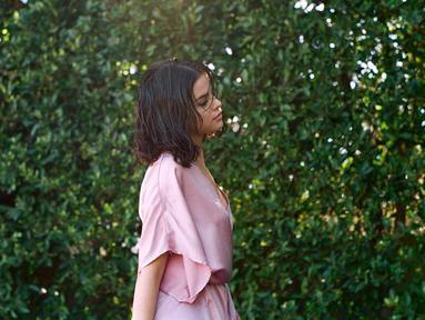 Selena Gomez dikabarkan tak sedih dengan pertunangan Justin Bieber dan juga Hailey Baldwin. (instagram/selenagomez)