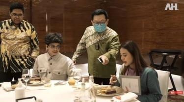 Atta Halilintar dan Aurel Hermansyah Tes Hidangan Pernikahan, Apa Saja Menunya?