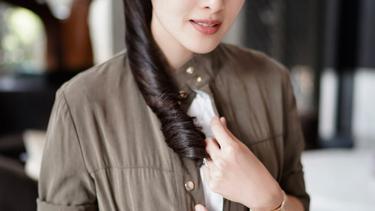 Intip Gaya 8 Artis Cantik Indonesia Dengan Rambut Panjangnya News Entertainment Fimela Com
