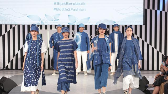 Danone AQUA Tampilkan Produk Fesyen Berkelanjutan di JFW 2020