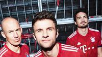 Bayern Munchen merilis jersey untuk musim 2018-2019. (doc. Bayern Munchen)