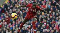 5. Sadio Mane (Liverpool) - 14 gol dan 1 assist (AFP/Paul Ellis)