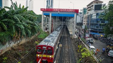 Siap Beroperasi Awal 2018, Pembangunan Stasiun Sudirman Baru Capai 96 Persen