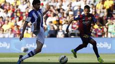 Barcelona berhasil memetik kemenangan 2-0 atas Real Sociedad di jornada ke-36 La Liga Spanyol. Berkat kemenangan di pertandingan yang berlangsung di Camp Nou, Sabtu (9/5/2015) malam WIB, Barca kokoh bercokol di puncak klasemen sementara dengan nilai ...
