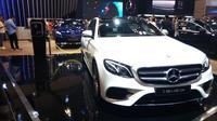 PT Mercedes-Benz Distribution Indonesia secara resmi meluncurkan varian plug-in hybrid (PHEV) dari E-Class di Gaikindo Indonesia International Auto Show (GIIAS) 2019, Mercedes-Benz EQ Power