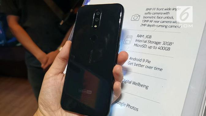 HMD Global luncurkan Nokia 4.2 di Tanah Air. (Liputan6.com/ Andina Librianty)