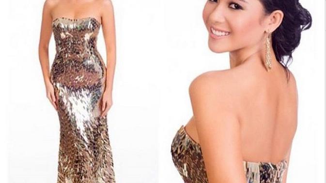4 Daya Pikat Elvira Devinamira Putri Indonesia 2014