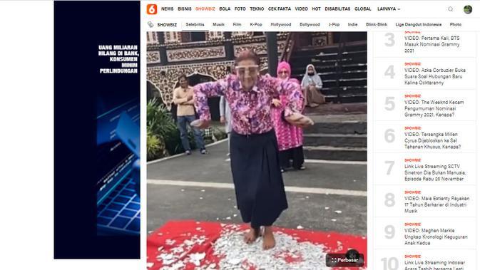 Cek Fakta Liputan6.com menelusuri klaim Menteri Edhy Prabowo Terciduk KPK, Susi Pudjiastuti menari di atas pecahan beling