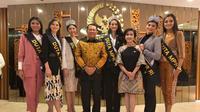 Ketua MPR RI Bambang Soesatyo mengangkat enam finalis Puteri Indonesia 2020 sebagai Duta Empat Pilar MPR RI (Dok.MPR RI)