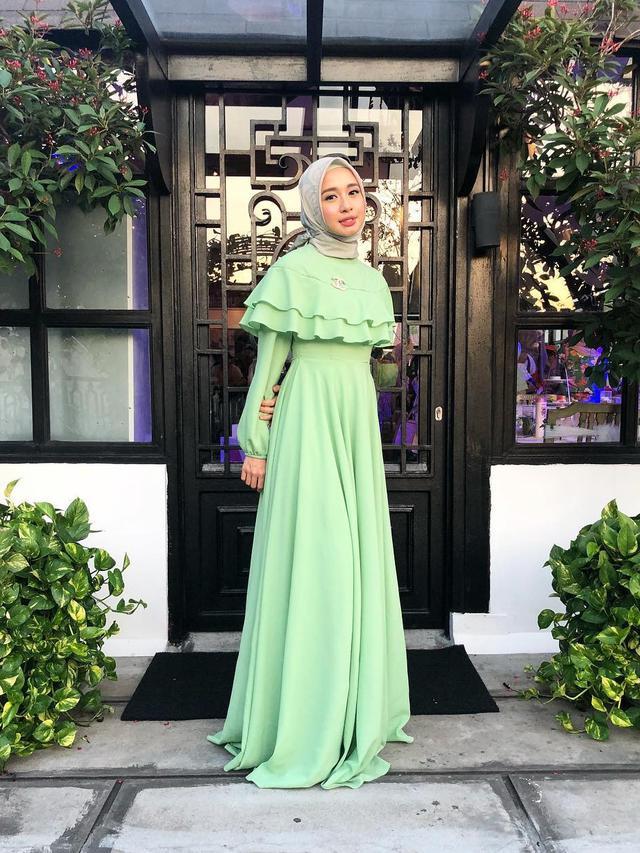 Gaya Hijab Laudya Cynthia Bella Yang Anggun Ramadan Liputan6 Com