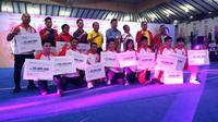 Para atlet dan ofisial Wushu yang meraih medali di SEA Games 2019 mendapatkan bonus dari PB WI (istimewa)
