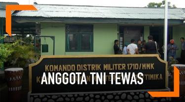 3 Anggota TNi tewas diserang Kelompok Kriminal Bersenjata (KKSB) di distrik Mugi