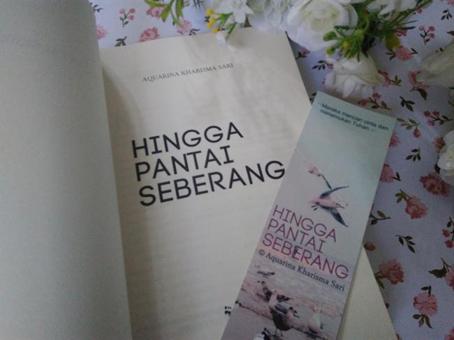 Novel Hingga Pantai Seberang./Copyright Vemale