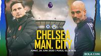 Premier League - Chelsea Vs Manchester City - Head to Head Pelatih (Bola.com/Adreanus Titus)
